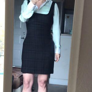Calvin Klein sleeveless wool short dress, 4